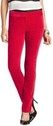 LOFT Petite Marisa Velvet Skinny Pants