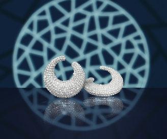 Swarovski Stone Pierced Earrings
