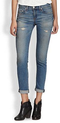 Rag and Bone Dre Distressed Skinny Jeans