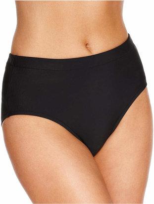 Swim Solutions Mid-Rise Bikini Bottoms Women Swimsuit