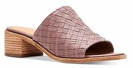 Frye Women's Cindy Woven Leather Block Heel Sandals