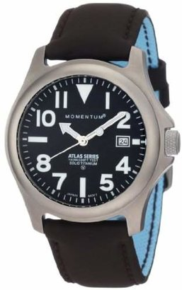 Momentum Men's 1M-SP00B12C Atlas Dial Brown Touch Leather Watch