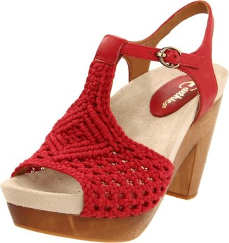 Earthies Women's Amalfi T-Strap Sandal
