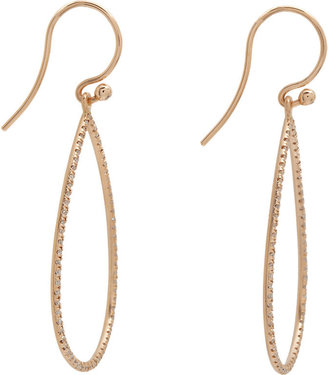 Irene Neuwirth Women's Pear-Shaped Cutout Earrings