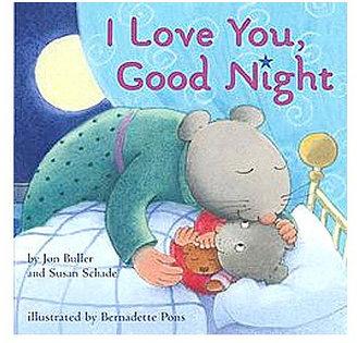 Simon & Schuster I Love You Good Night Board Book