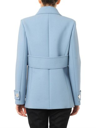 Gucci Neoprene-wool pea coat