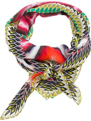 Peter Pilotto geometric print scarf