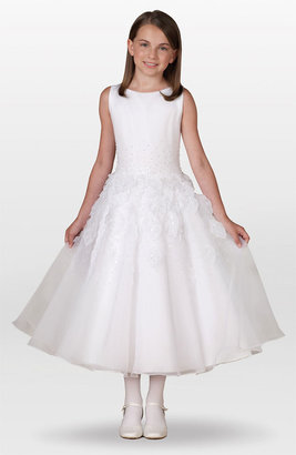 Joan Calabrese for Mon Cheri Leaf Dress (Little Girls & Big Girls)