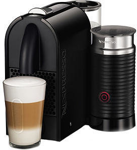 Nespresso U D55 Milk Black