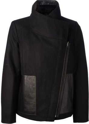 Helmut Lang 'Void' reversible coat