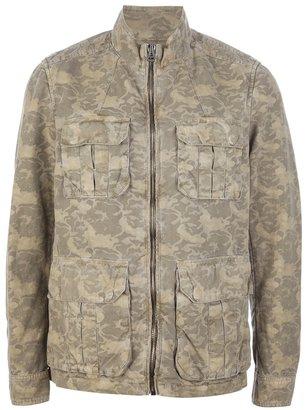 HUGO Pratt camouflage pocket jacket