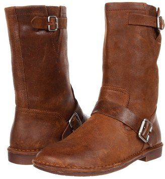 Hush Puppies Knox (Brown Leather) - Footwear