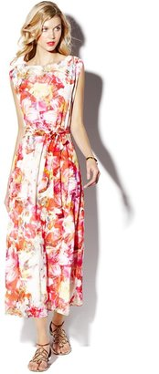 Vince Camuto Corsage Floral Maxi Dress