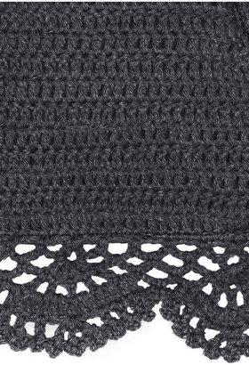 Lisa Maree The Shining Light crocheted cotton-blend bikini