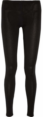 Splendid - Stretch-jersey Leggings - Black $85 thestylecure.com