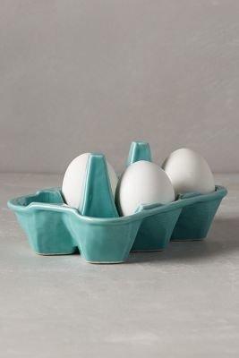 Anthropologie Half-Dozen Egg Crate