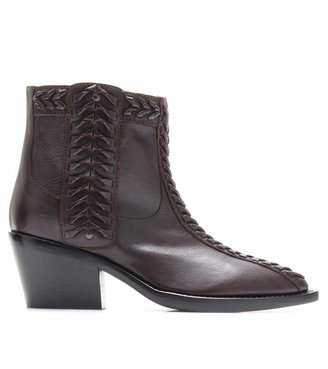 Haider Ackermann LEATHER ANKLE BOOTS