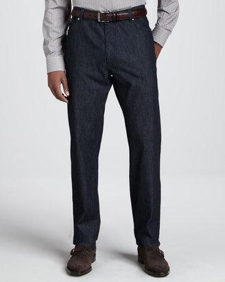 Ermenegildo Zegna Clean Dark Jeans