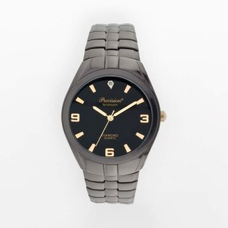Gruen Precision By Precision by Diamond Accent Expansion Watch - Men