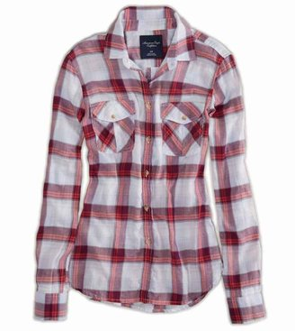 American Eagle AE Plaid Shirt