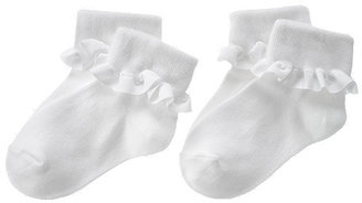 Gymboree Ruffle Foldover Sock Two-Pack
