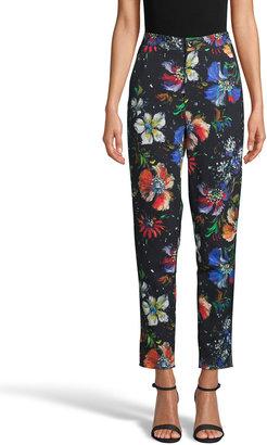 Robert Graham Lydia Floral-Print Ankle Pant