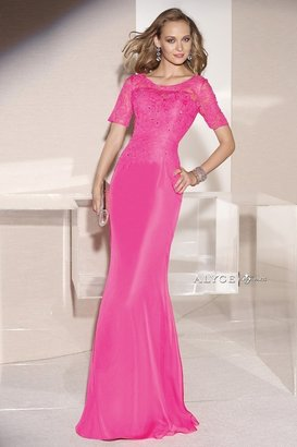 Alyce Paris Mother of the Bride - 29694 Dress in Wow Pink $470 thestylecure.com