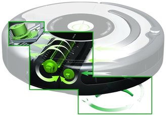 iROBOT Roomba 650 Vacuum Cleaning Robot for Pets