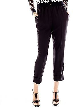 JCPenney Duro Olowu for jcp Soft Cuffed Pants - Black