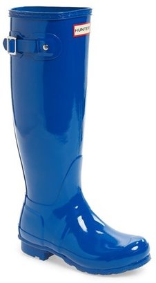 Hunter Original High Gloss Boot $150 thestylecure.com