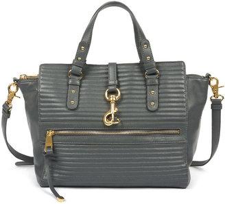 Badgley Mischka Nora Quilted Nappa Leather Shoulder Bag