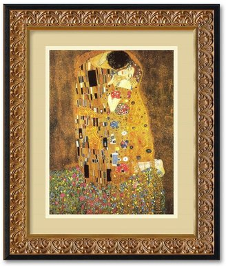 "Amanti art ""The Kiss"" 14"" x 17"" Framed Wall Art"