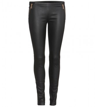 Emilio Pucci LEATHER LEGGINGS