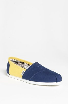 Toms 'Campus Classics - University of Michigan' Slip-On (Women)