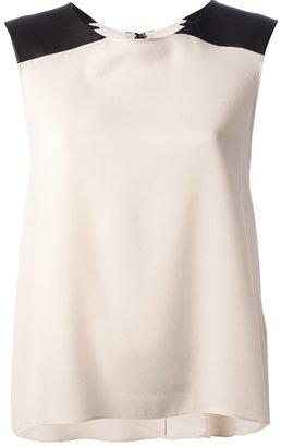 Alice + Olivia Alice+Olivia silk sleeveless top