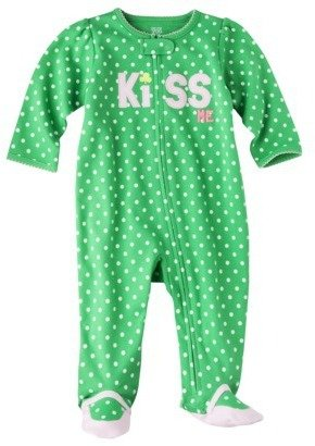 Carter's Just One YouTMMade by Newborn Girls' Kiss Me Sleep N' Play - Green