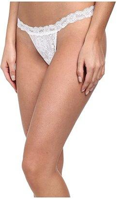 Hanky Panky Signature Lace G-String (Black) Women's Underwear