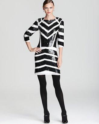 Kas Quotation Dress - Selena Sequin Geo