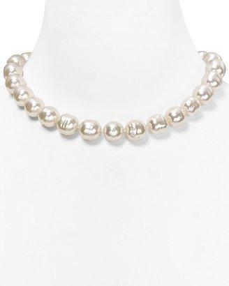 "Majorica Baroque Organic Man-Made Pearl Necklace, 17"""
