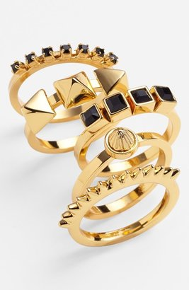 Vince Camuto Stackable Rings (Set of 5)