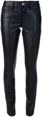 Blumarine Patent leather skinny pant