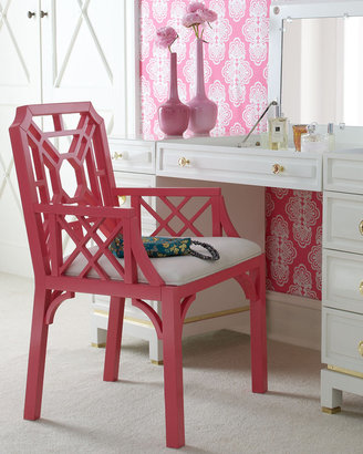 "Lilly Pulitzer Home Boulevard"" Armchair"
