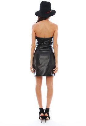Boulee Ashton Vegan Leather Dress