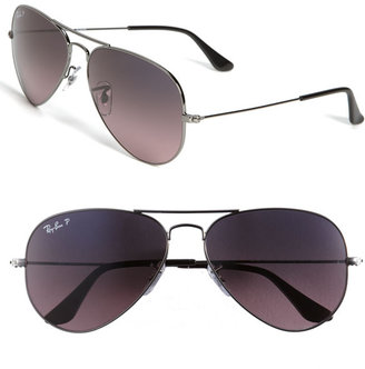 Ray-Ban 'Original Aviator' 58mm Polarized Sunglasses