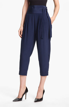 Diane von Furstenberg 'Keaka' Silk Capri Pants