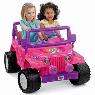 Fisher-Price Power Wheels Barbie Jammin' Jeep Wrangler
