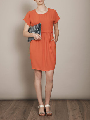 See by Chloe Short sleeve crepe dress