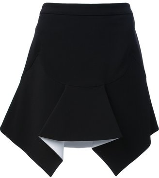 Givenchy structured ruffle skirt