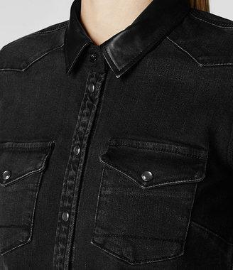 AllSaints Keaton Denim Shirt