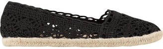Soda Sunglasses Crochet Espadrille Girls Shoes